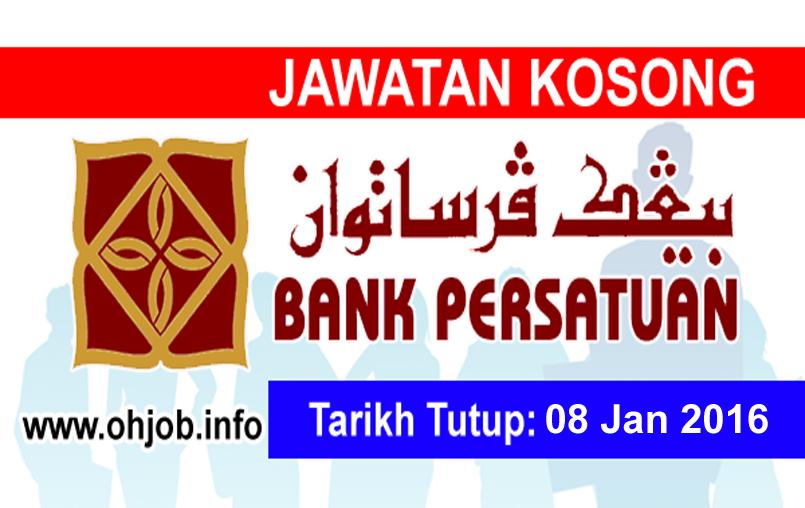 Jawatan Kerja Kosong Koperasi Bank Persatuan Malaysia logo www.ohjob.info januari 2015