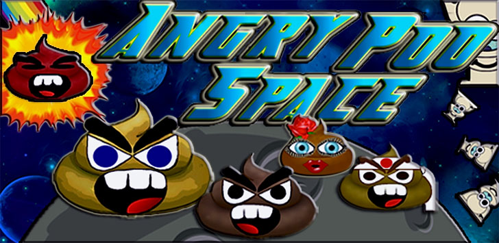 Angry Poo Space Free App Game By Nicholas Grant