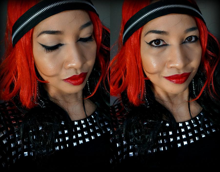 Halloween Makeup, Rock Chick, Rock Star, How to, Lady Gaga Makeup