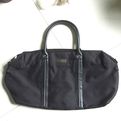 ermenegildo zegna travel bag