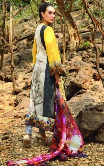 LawnDressesbyShariqTextiles201328529 - Nadia Hussain Lawn 2013 Magazine by Shariq Textiles