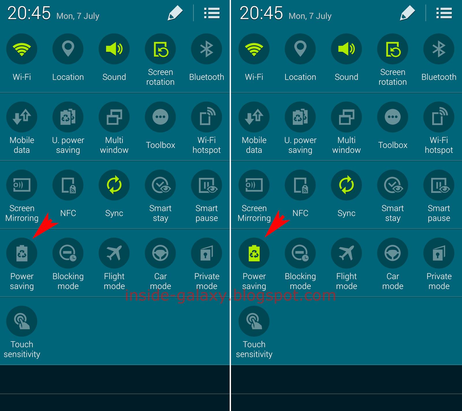 Power Button Samsung Galaxy S5