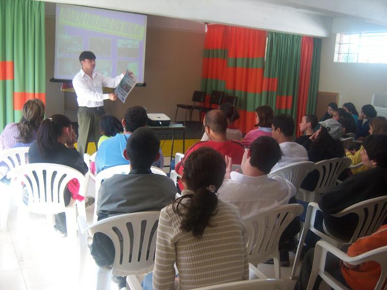 palestras em todo estado do Rs