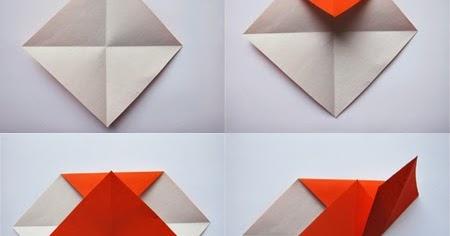 easy origami heart instructions