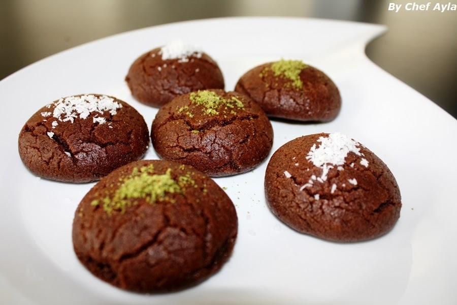 Ayla's Kitchen : Sablé Façon Brownie (Brownie kurabiye)