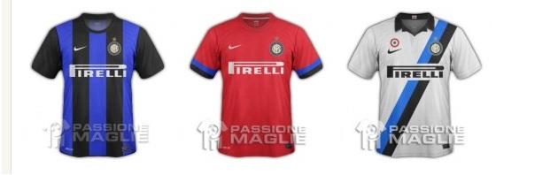 Las Nuevas Camisetas Del Inter De Milan 2012 2013 Variaran Un Poco De