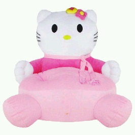 PUSAT GROSIR SOFA BONEKA HELLO KITTY