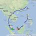 Berjalan 5000 batu merentasi Asia Tenggara dengan Google Map!