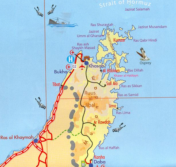 Khasab Musandam Oman Cruise Port of Call