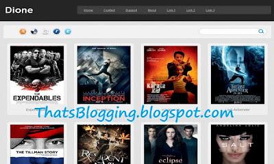 Dione Blogger Template 2013