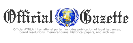 AYNLA Official Gazette