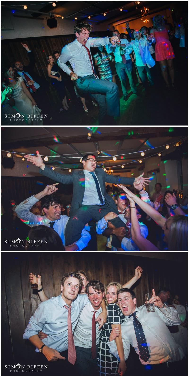 Wedding dancing at Pennard House