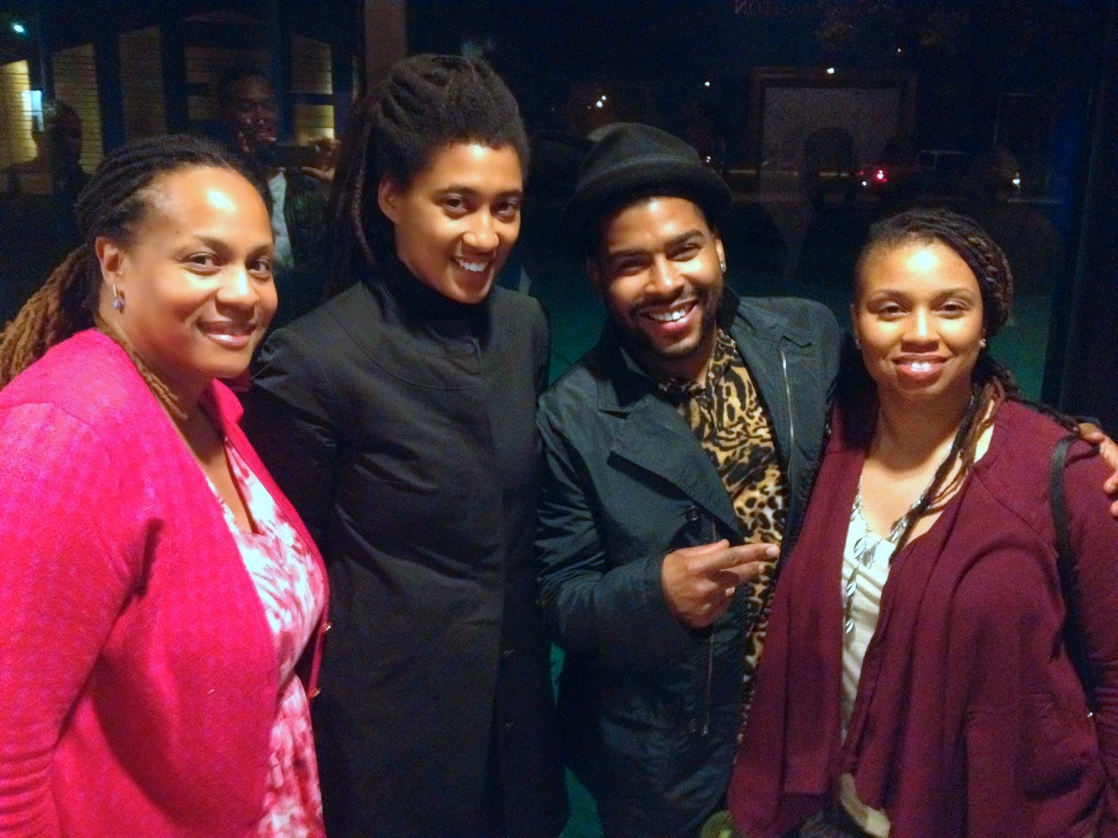 Janice Temple, Tomeka Reid, Corey Wilkes and his Wife Carmen Wilkes