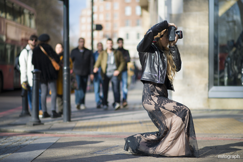 mitograph Photographer London Fashion Week 2013 2014 Fall Winter-LFW Street Style Shimpei Mito