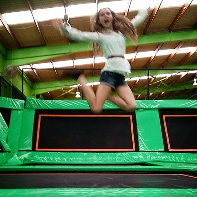 Kristy at FlipOut Caringbah