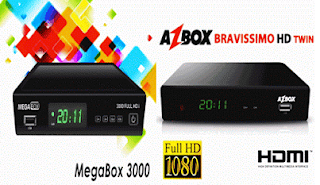como transformar bravissimo Twin em megabox 3000