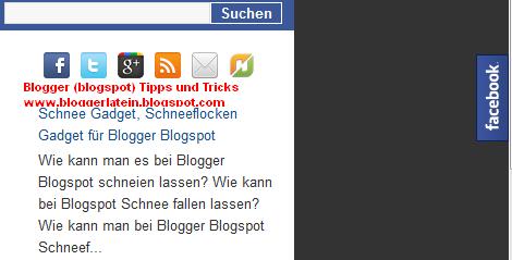 Facebook Like Box bei Blogger einbetten. Facebook Gefällt mir Box bei Blogspot einbetten.