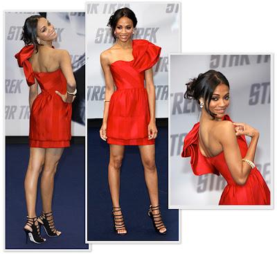 Labels: Star Trek , Style Crush , Zoe Saldana