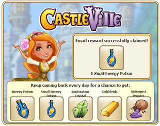 Castleville Daily Reward