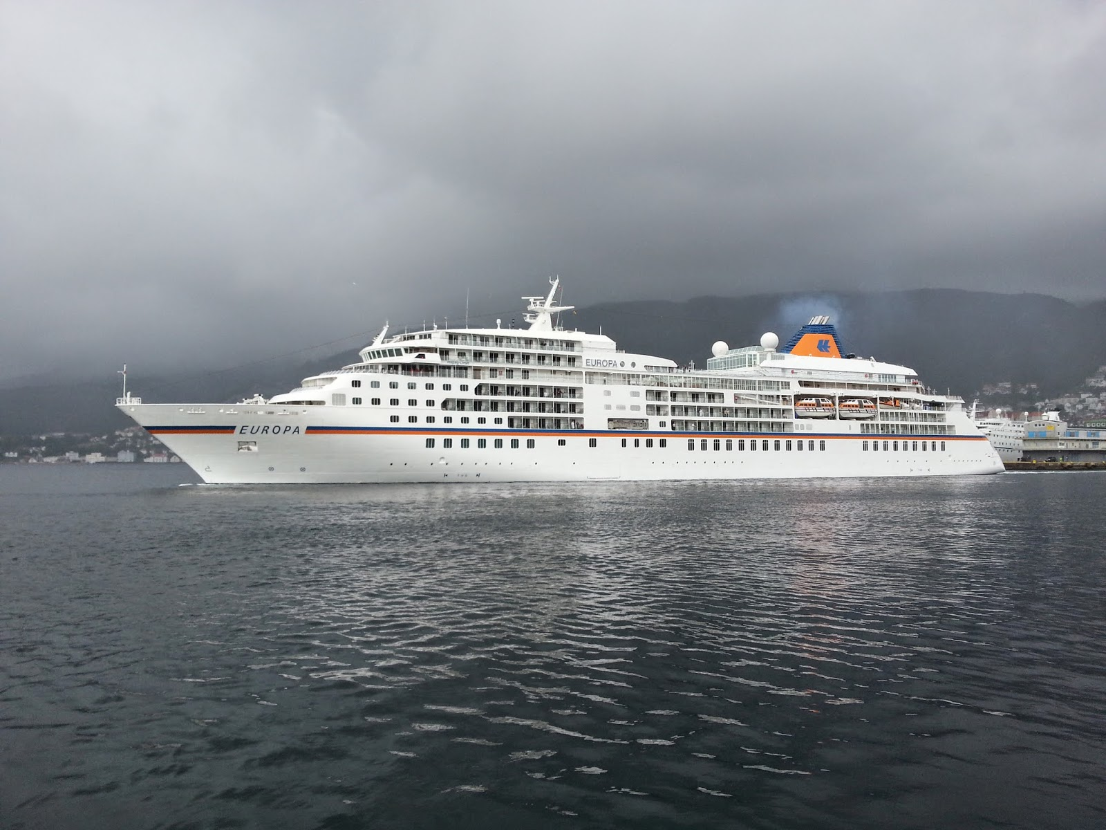 Cruise Ship Europa in Bergen