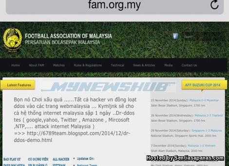 Hackers Vietnam Godam Laman Web FAM!