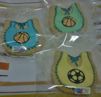Fancy cookies aqiqah cukur jambul baby bip ball