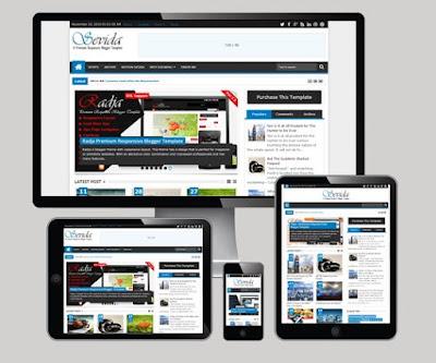 Sevida - Responsive Magazine Blogger Template