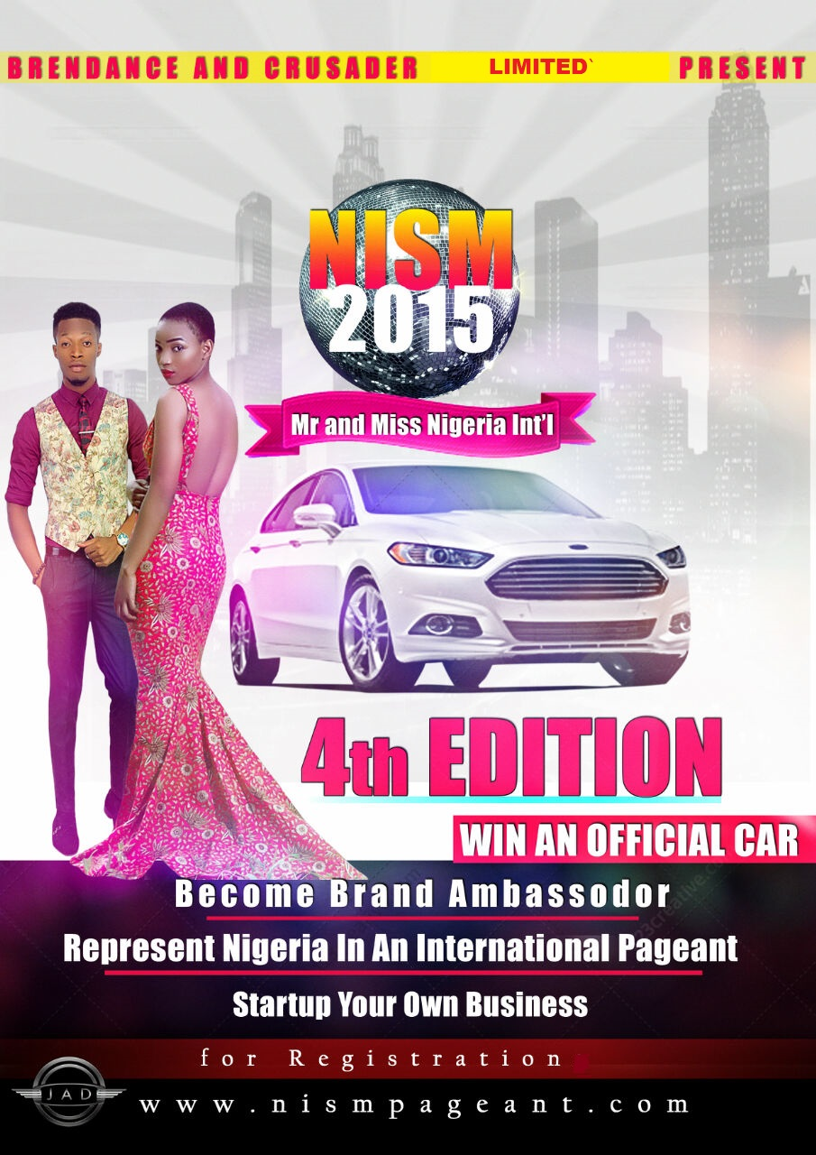 NIGERIA INTERNATIONAL PAGEANT 2015. CLICK TO APPLY