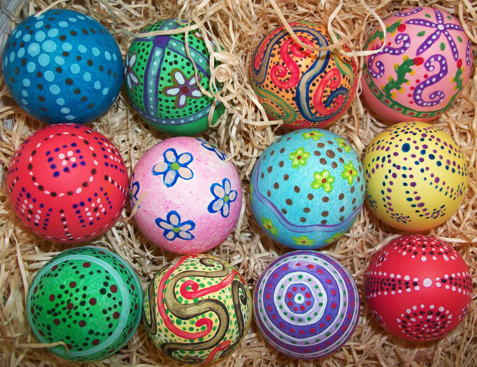 What's Cooking With Melissa?: Hand-Painted Easter Eggs