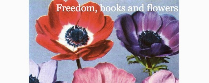 freedom books and flowers
