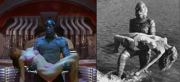 earth girls are easy creature of the black lagoon comparison