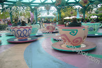 Les tasses attraction disneyland