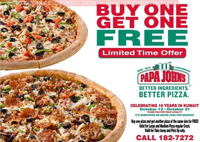 The Papa Johns Pizza Menu. Most pizza chains have focused on cheap prices, but the Papa Johns have tried to differentiate themselves from Dominos and Pizza Hut by offering a high quality product at an affordable price.