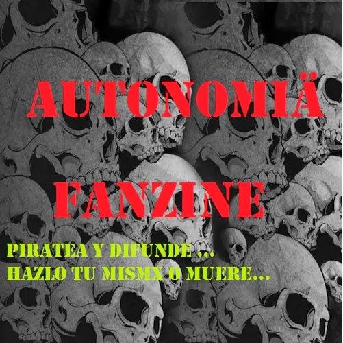Piratea y Difunde Autonomia zine