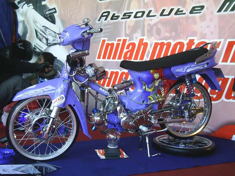 Foto Modifikasi Motor Honda Legenda