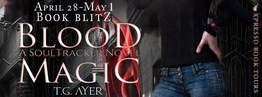 Book Blitz: Blood Magic by T.G. Ayer + Giveaway (INT)
