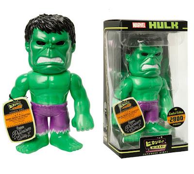 """Original"" Hulk Marvel Hikari Sofubi Vinyl Figure by Funko"