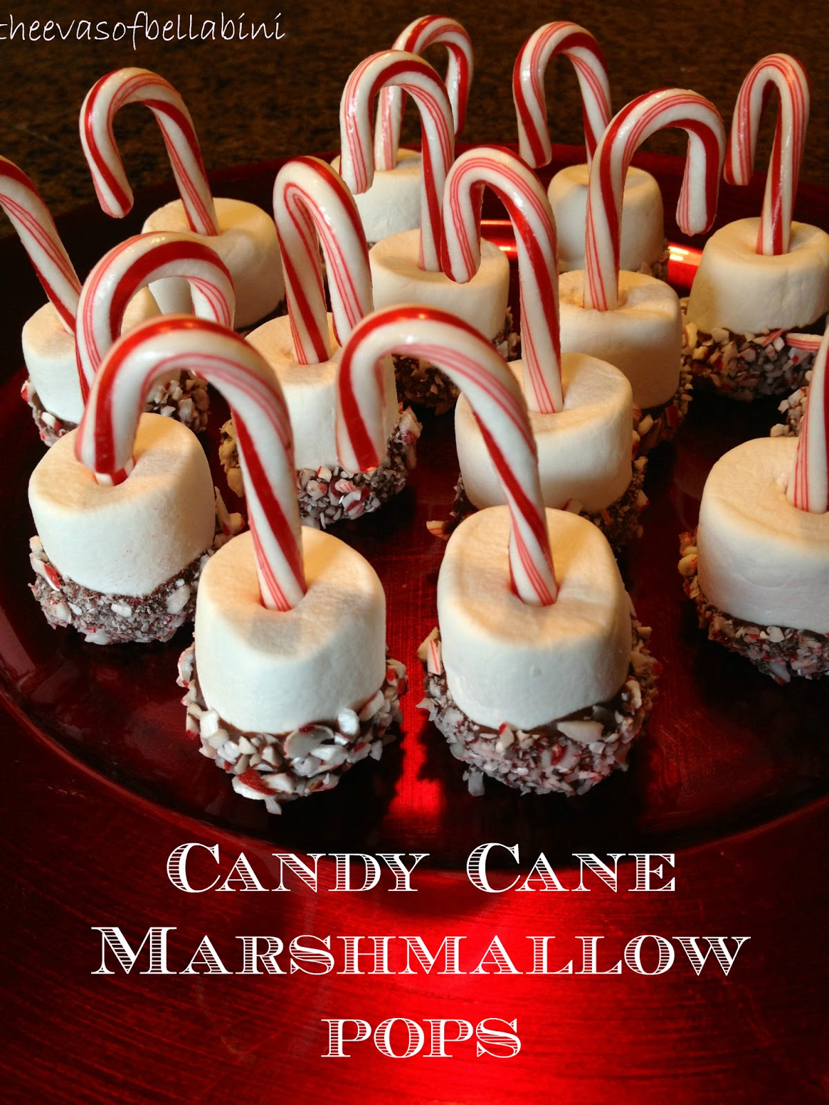 Lemon Drops and Cupcakes: Candy Cane Marshmallow Pops