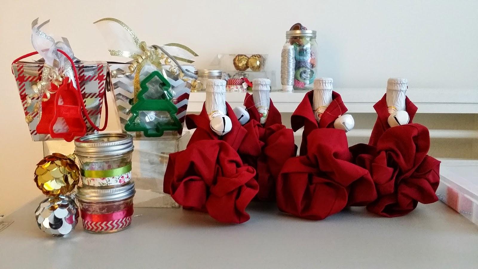 LOFT101: DIY Holiday Craft Day 3: Making Homemade Gifts Shopping At ...