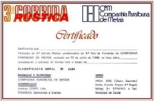 3ª Corrida Rústica Companhia Paraibuna de Metais