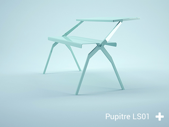 The Pupitre modern desk