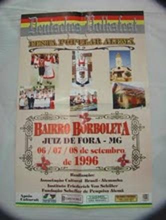 CARTAZ DA FESTA ALEMÃ DE 1996