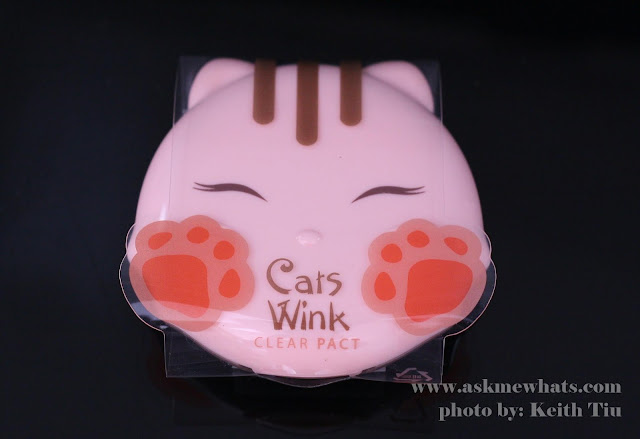 A photo of Tony Moly Cats Wink Clear Pack (Shade 02)
