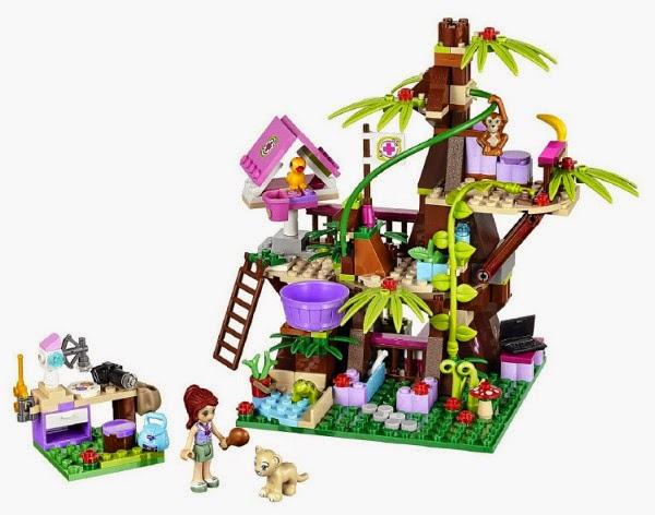 JUGUETES - LEGO Friends 41059 Selva, el santuario forestal de la jungla Toys | Producto Oficial 2014 | Edad: 7-12 años