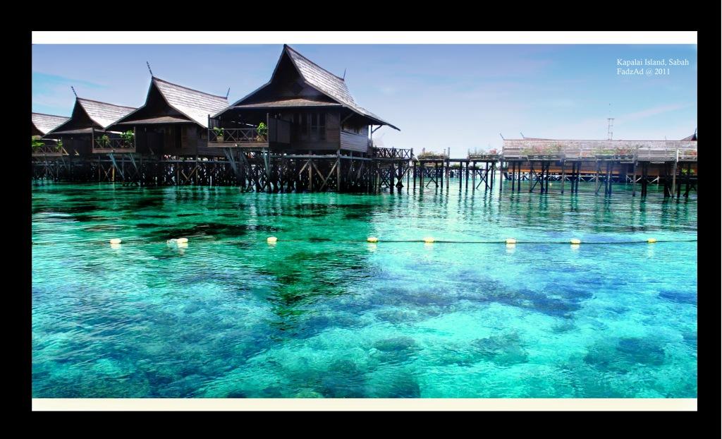 Scuba diving in malaysia sipadan mabul kapalai island - Kapalai dive resort ...