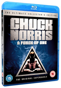 Chuck Norris A Force Of One Blu-ray