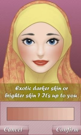 Game Salon Hijab Hijab Make Up Salon APK Android