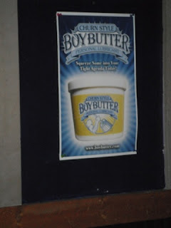 Small town gay club, The Link, in Western Penn proudly displays Boy Butter posters