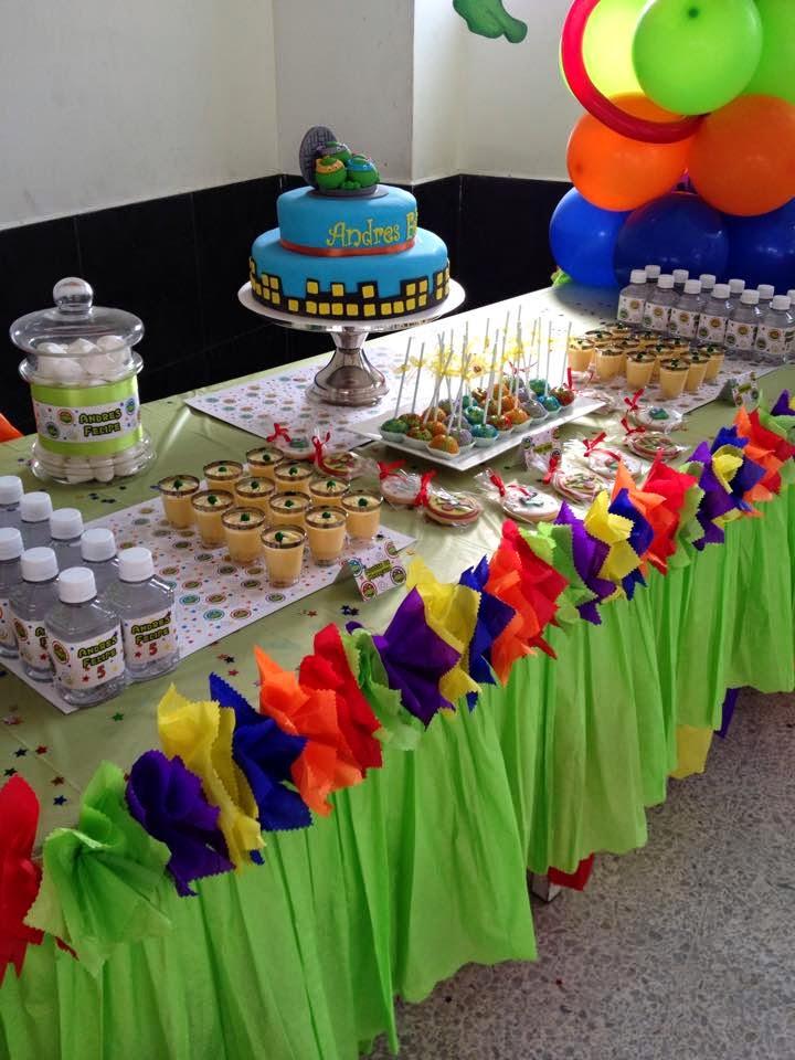 Pasteleria creativa mesas dulces cumplea os infantiles for Mesas dulces cumpleanos