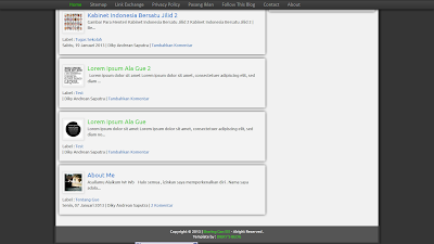 Template SEO Valid HTML5 Terbaru 2013